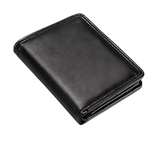 male wallets Luxury Men's Wallet Leather Solid Slim Wallets Men Pu Leather Bifold Short Credit Card Holders Coin Purses Business Purse Male