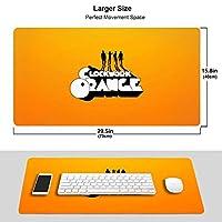 時計じかけのオレンジ (4) 専用ゲーミングマウスパッド オフィス用マウスパッド、学習マウスパッド(75 X 40 X 0.3 Cm)耐久性、滑り止め、環境保護、精密ロック、厚手の設計、操作感がより快適です。