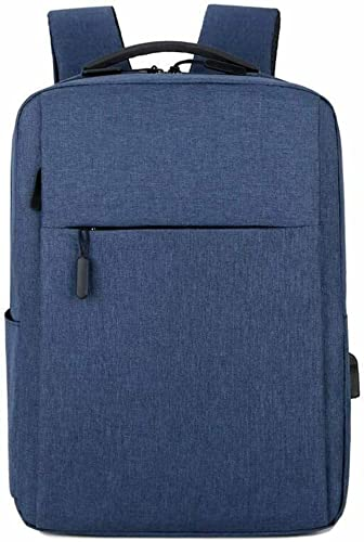 Zaino per PC Portatile, 15,6 Pollici Zaino Porta PC Laptop con Caricabatteria USB Zaino da Lavoro Scuola, Impermeabile per Laptop Computer Notebook Viaggio Regalo, Uomo & Donna (Blu)
