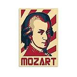 SADFSD Mozart Poster, dekoratives Gemälde, Leinwand,
