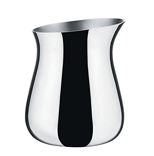 Alessi Milchkännchen, Porzellan, Silber, 3.5 x 8 x 36 cm
