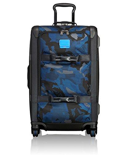 Tumi Alpha Bravo, Maleta expandible para viajes cortos Henderson, 66 cm, 65 L, Blue Camo, 0222464BCM2