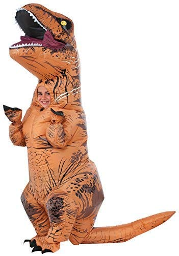 Rubie's Costume Co - T-Rex Inflatable Child Costume with Sound - Standard