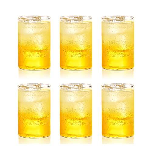 Borosil – Vision Glass Set, 295 ml, Set of 6, Transparent