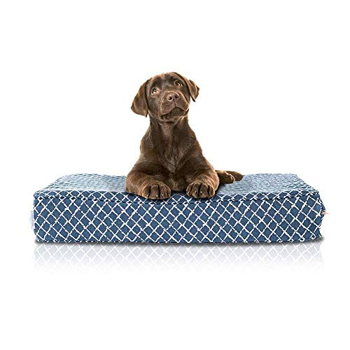 eLuxurySupply Dog Bed - Orthopedic Memory Foam Pet...