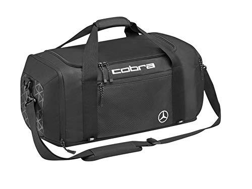 COBRA Mercedes-Benz Golf-Sporttasche, 100% Polyester, Golf-Sporttasche, Sporttasche, Polyester, schwarz, weiß/Fuchsia/schwarz, Tasche (schwarz)