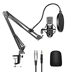 Neewer NW-700 Condenser Microphone - Best Podcast Microphones