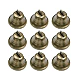 HEALLILY 10 Piezas de Cascabeles de Bronce Vintage Cobre DIY Campanas...