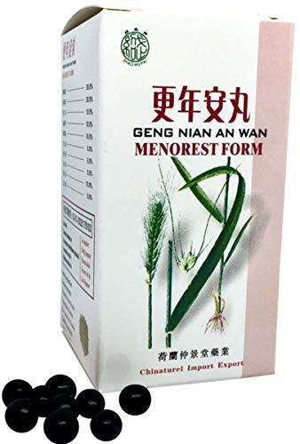 Geng Nian An Wan (Menorest Form) TCM Herbal Formula 200 Pills Peaceful Menopause