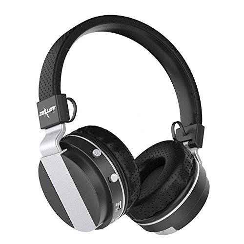 ONEU Bluetooth Kopfhörer 4.0 Over-Ear HiFi Audio Stereo Musik Faltbare Noise Cancelling Wireless Gaming-Headset für iPhone und Android Tablet PC