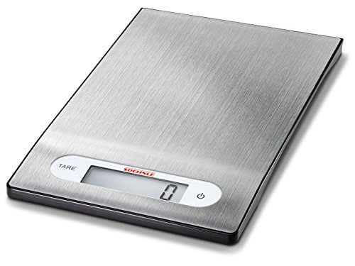 Soehnle 65121 Digitale Küchenwaage Shiny Steel