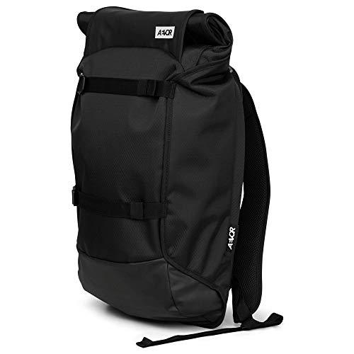 AEVOR Trip Pack Proof - wasserfester Rucksack, erweiterbar, ergonomisch, Laptopfach - Black