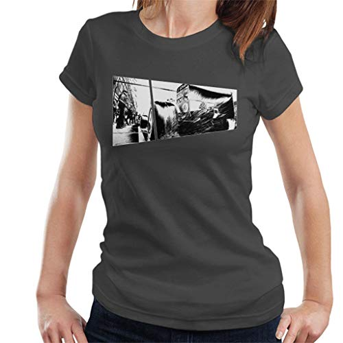 Motorsport Images Water Sprays From Rear Tyres F2003 GA Women's T-shirt