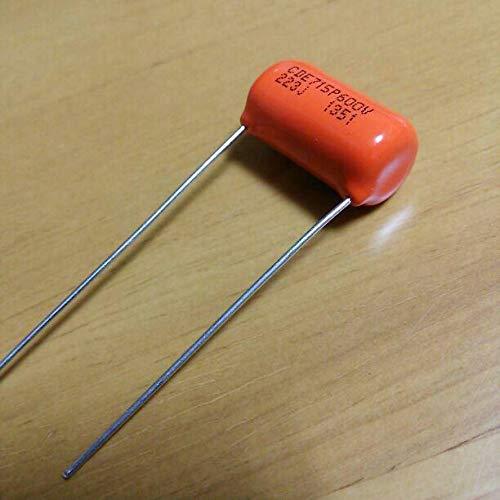 2x Condensateur Sprague Orange Drop Tone Capacitor 22nF .022uF 200V