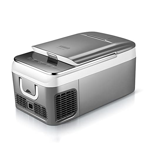 LS Nevera Portátil, Refrigerador Refrigerador De 12V (48W), Congelador Compacto De 18 Litros Con Compresor Y Control Táctil, Para Uso Del Automóvil, -4 °F A 50 °F, -20 °C A 10 °C, DC 12V / 24V