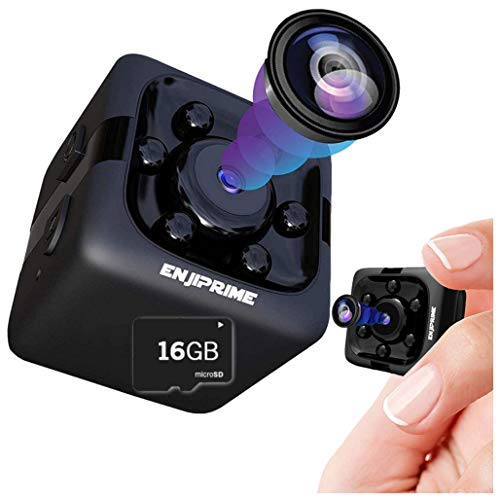 Spy Hidden Camera Nanny Cam - Mini Wireless Cop Cam Action...