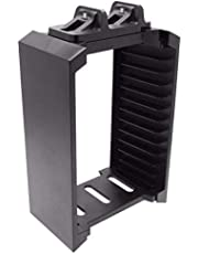 فينوم VS2736 منصتا شحن مع برج تخزين بلاي ستيشن 4