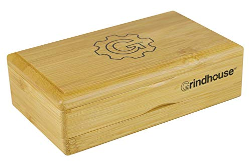 Grindhouse Bamboo Pollen Sifter Box - Assorted Sizes (Small (3' x 5'))