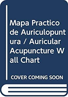Auricular Acupuncture Point Wall Chart (Spanish-Chinese)