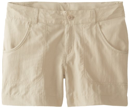 Columbia Girl's Silver Ridge III Shorts (Youth), Fossil, Medium
