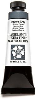 DANIEL SMITH 284600065 Extra Fine Watercolor 15ml Paint Tube, Payne's Gray