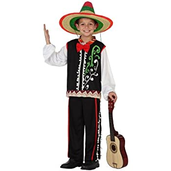 Atosa-23617 Disfraz Mariachi, color negro, 5 a 6 años (23617 ...