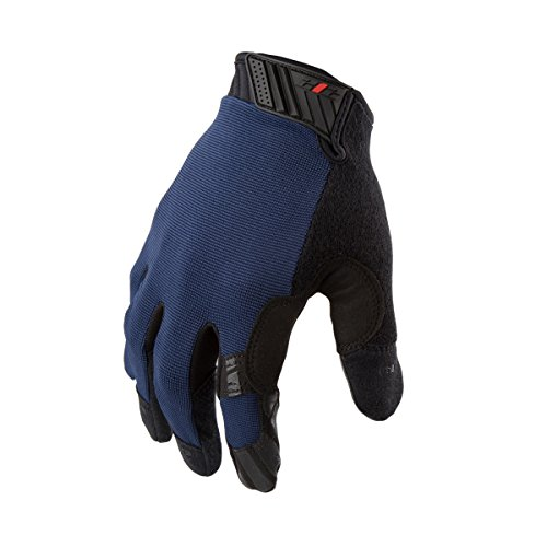 212 Performance Gloves MGGC-BL04-010 Extra Grip Utility Gloves, Touch-screen Compatible, Navy Blue, Large