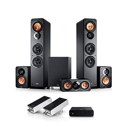 Teufel Ultima 40 Surround Wireless 5.1-Set Schwarz Heimkino-Set Surround-Sound