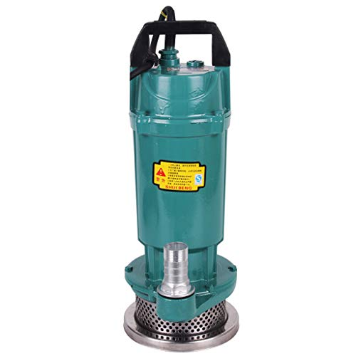Qi peng huishoudlicht dompelpomp 220 V dompelpomp pomp helder waterpomp fontein kleine sproeipomp (aluminium shell)