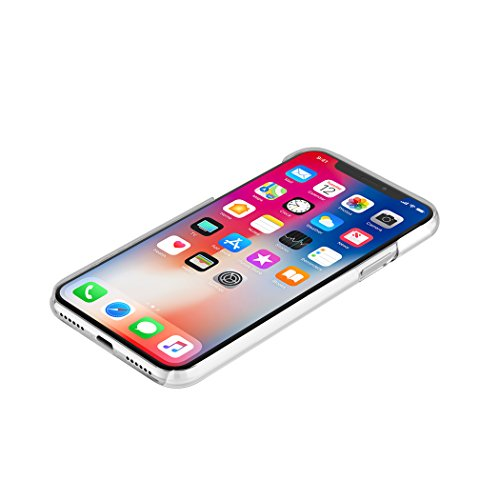 Incipio Feather Pure iPhone X Case with Ultra-Thin Clear Snap-On Design for iPhone X - Clear