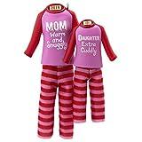 Hallmark Keepsake Ornament 2019 Year Dated Mom and Daughter Matching Christmas Pajamas, Fabric