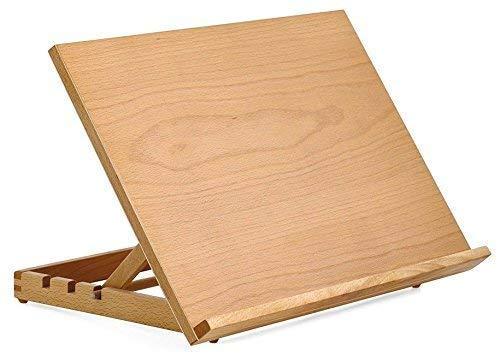 A3 Art & Craft Workstation Wooden Desktop Drawing Board Artist Adjustable...