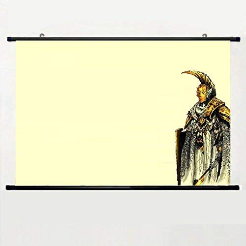 Popular and Unqiue Designed Home Decor Art Game Poster with Elder Scrolls Morrowind(1) Wall Scroll Poster Fabric Painting 24 X 16 Inch (60cm X 40 cm)