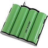Powery Batería para electroestimulador Compatible con Modelos de Compex 4H-AA1500, 941210 4,8V 2000mAh (no Original)