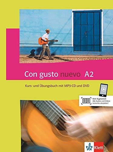 Con gusto nuevo A2: Kurs- und Übungsbuch mit MP3-CD und DVD