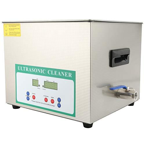 VINGVO Limpiador ultrasónico, Lavadora ultrasónica Resistencia a la corrosión Función de eliminación de Burbujas de(AC220V European Plug)