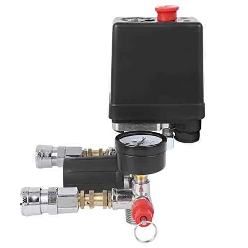 Interruptor de presión del compresor, convenientemente con soporte de compresor de aire duradero para el control de presión