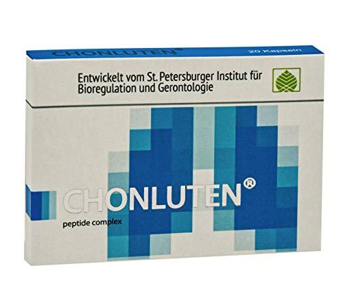 Chonluten – błona śluzowa oskrzelowa aminokwasy kompleks peptydowy 20 kapsułek