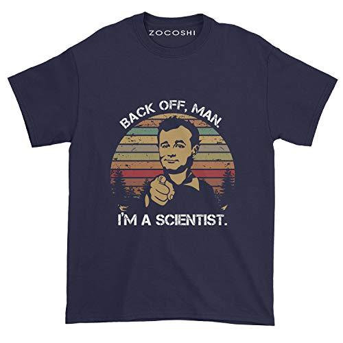 Men's Back Off Man I'm a Scientist T-Shirt (XL, Navy)