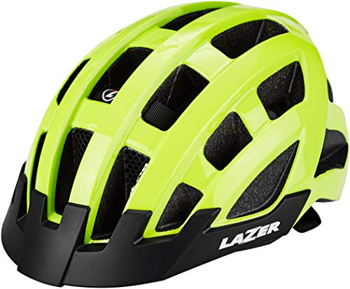 Lazer Compact Deluxe Helm Flash Yellow 2021 Fahrradhelm