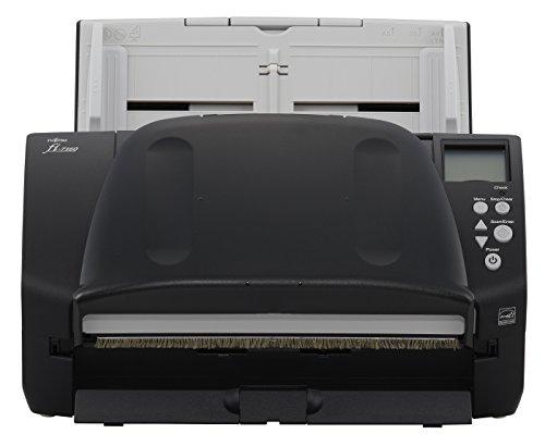 Fujitsu fi-7160 - Escáner (210 x 5588 mm, 600 x 600 dpi, 24 bit, 8 bit, 1 bit, 60 ppm)