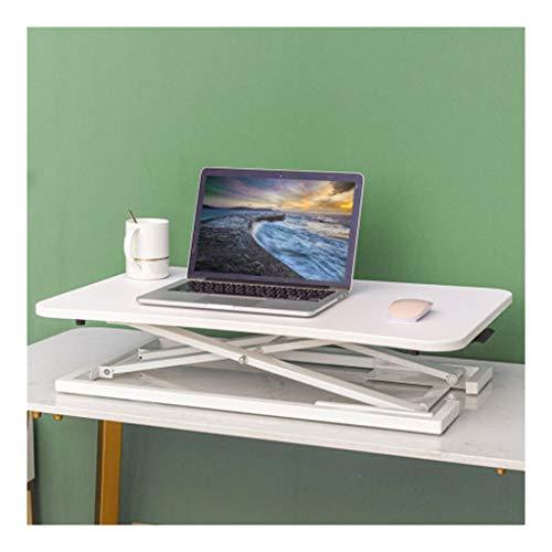 Estación de Trabajo Escritorio de Pie Soporte de sobremesa del convertidor,28.7 pulgadas de altura ajustable Soporte de escritorio convertidor puede estar en unos pocos segundos,conveniente for el hog