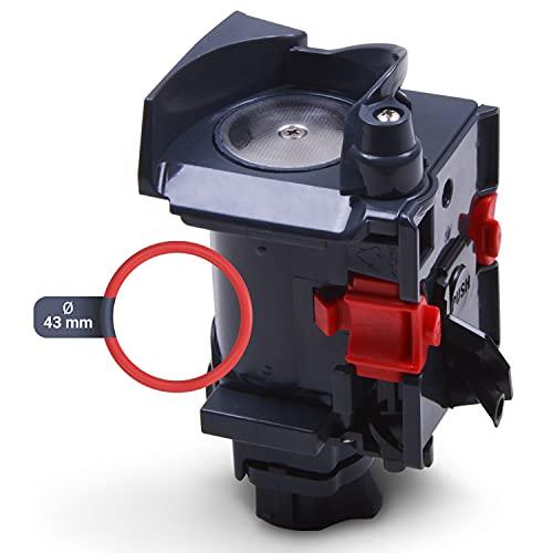 Zaparzacz i o-ring do ekspresu do kawy uszczelka 43 mm Ø SET zamiennik do DeLonghi 5513227911 7313251441 ekspres do kawy ESAM 3000 Magnifica części zamienne