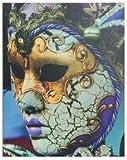AVENUELAFAYETTE Cadre Toile Tableau Masque Carnaval de Venise - 50 x 40 cm (M5)