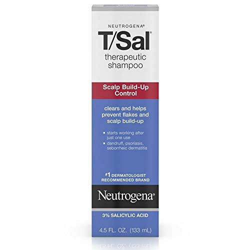Price comparison product image Neutrogena T / Sal Therapeutic Shampoo,  Scalp Build-Up Control 4.5 Ounce - Pack of 24