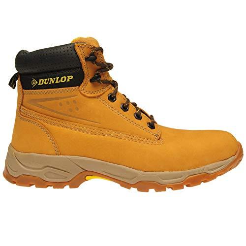 Dunlop Hombre Safety On Site Botas Miel EU 42 (UK 8)
