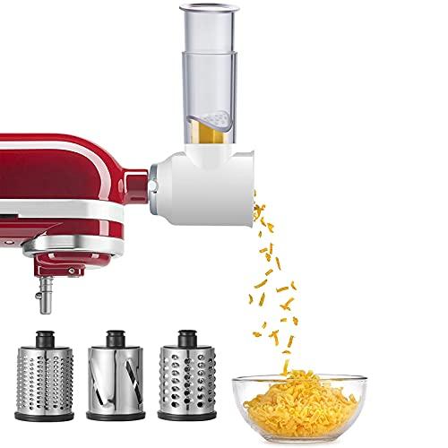 Slicer Shredder Attachment for KitchenAid Stand Mixers, Vegetable...