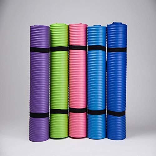NBR Material 1830 x 610 x 10 mm Esterilla de yoga, cojín y esterilla de ejercicio