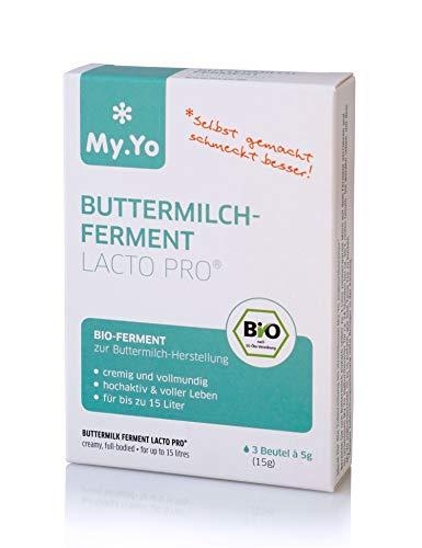 My.Yo Bio Buttermilchferment LactoPro®, 3 Beutel