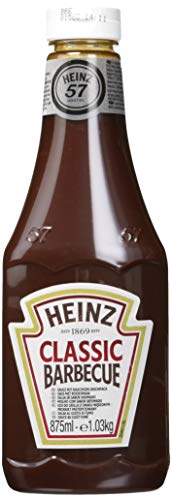 Heinz HZ KK BBQ, Confezione Da 6X875 Ml